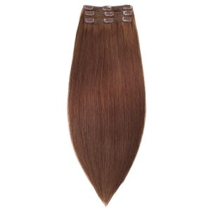 Clip-on Pidennykset Original 3 pieces 2.0 Dark Brown 50 cm