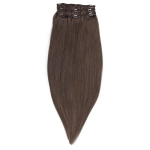 Clip-on Pidennykset Original 3 pieces 2.6 Dark Ash Brown 50 cm
