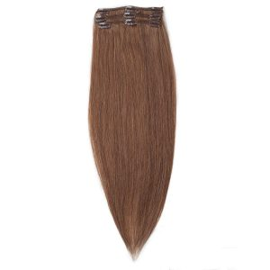 Clip-on Pidennykset Original 3 pieces 5.1 Medium Ash Brown 50 cm