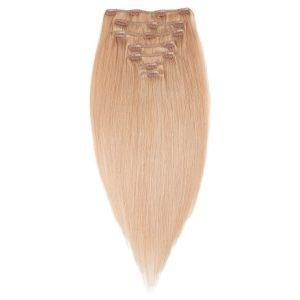 Clip-on Pidennykset Original 7 pieces 7.5 Dark Blonde 30 cm