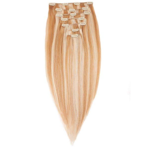 Clip-on Pidennykset Original 7 pieces M7.4/8.0 Summer Blonde 30 cm