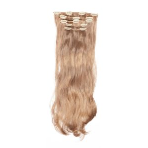 Clip-on Pidennykset Synthetic 5 pieces Beach Wave 4.1 Cendre Ash Blonde 50 cm