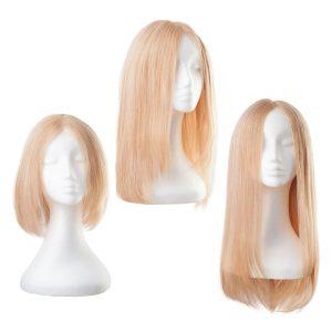 Lace -peruukki Aitoa hiusta 7.5 Dark Blonde 30 cm
