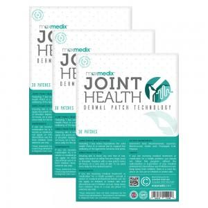 Joint Pain Support Patch - Luonnollinen tuki nivelten terveyteen - 30 iholaastaria - 3 Pakkausta