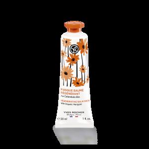 Kasvonaamio - elvyttävä, ravitseva, luomukehäkukka, 30 ml