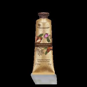 Kosteuttava käsivoide - argan, ruusu, 30 ml