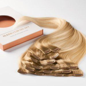 Sleek clip-on set 7 pieces C7.3/8.3 Brilliant Blonde ColorMelt 50 cm