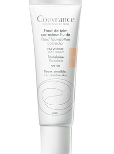 Avène Couvrance Fluid Foundation Corrector - 1.0 Porcelain 30 ml - POISTUNUT TUOTE