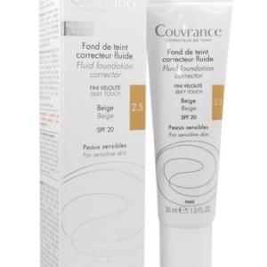 Avène Couvrance Fluid Foundation Corrector - 2.5 Beige 30 ml