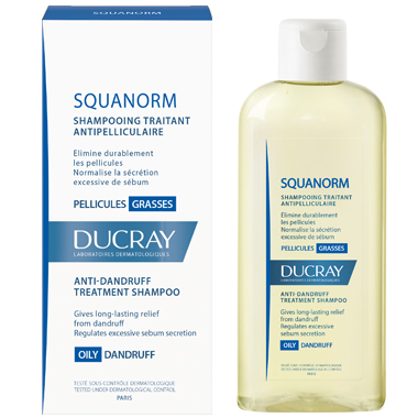 Ducray Squanorm oily dandruff shampoo 200 ml