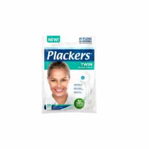 Plackers Twin hammaslankain 33 kpl