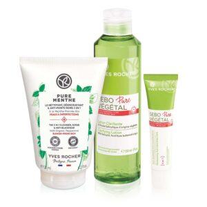 Setti - Sebo Pure Végétal & Face Cleansing (3 in 1 kuoriva puhdis