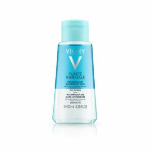 Vichy Purete Thermale silmämeikinpoistoaine vedenkestävälle meikille 100 ml
